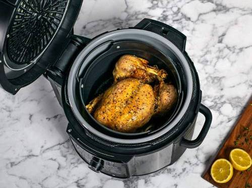 cooking-a-marinated-chicken