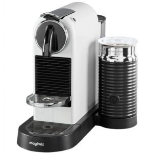 Nespresso Citiz White with Capsules and Frother