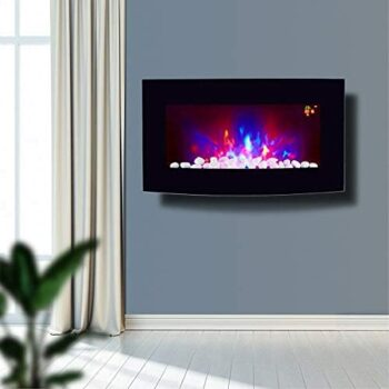 Truflame Arched glass new