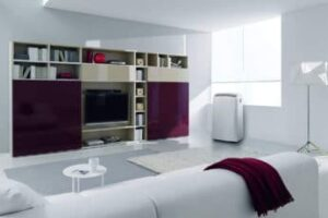 a-mobile-air-cooler-in-the-living-room