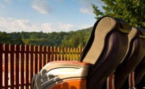 a-row-of-massage-armchairs-outdoors