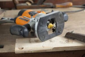 close-up-of-a-woodworking-router