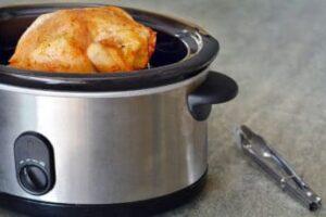 cooking chicken in a crock pot