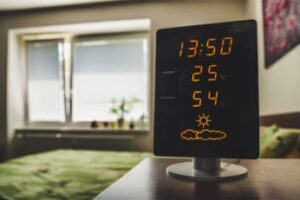 device-showing-hot-temperature-at-home
