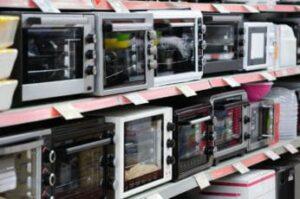 different-mini-ovens-on-display