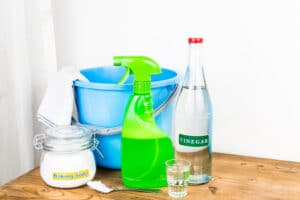 household cleaning materials