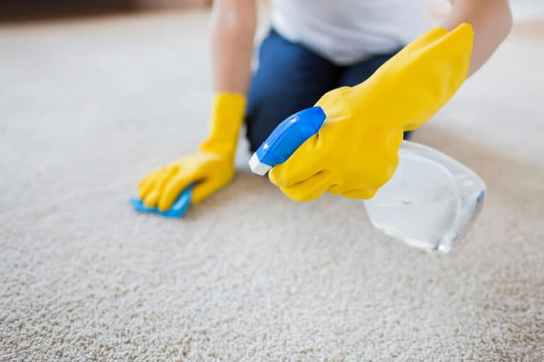 how to clean a carpet without a carpet cleaner