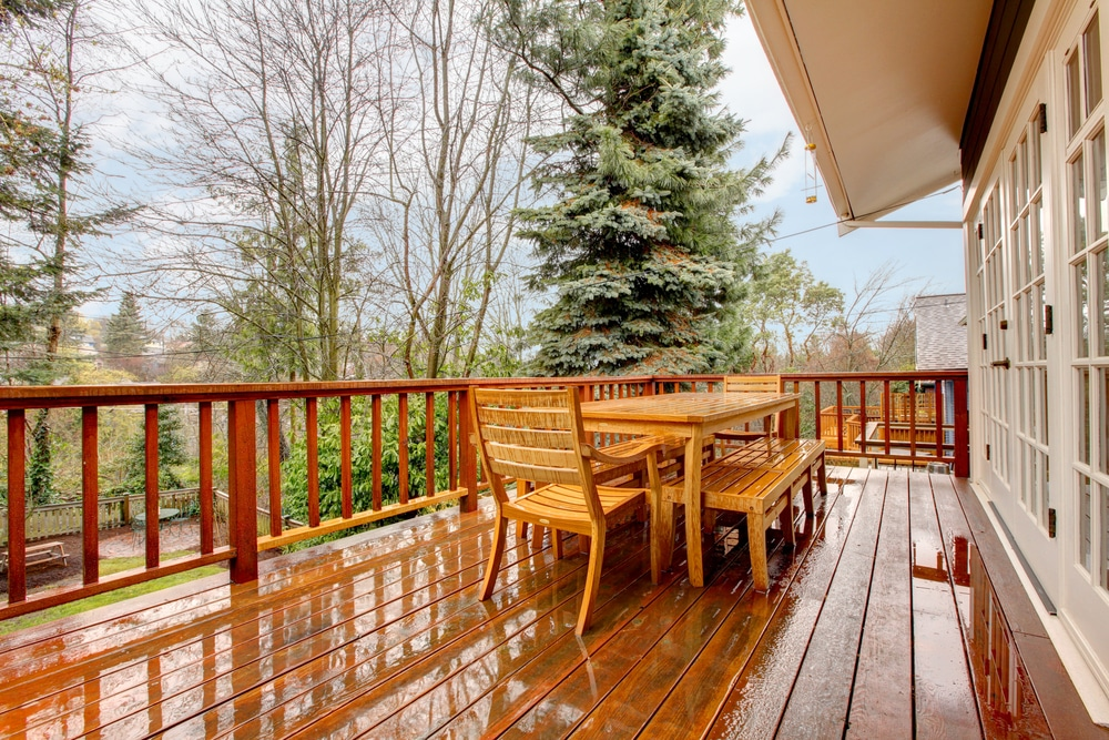 how to clean decking without a pressure washer