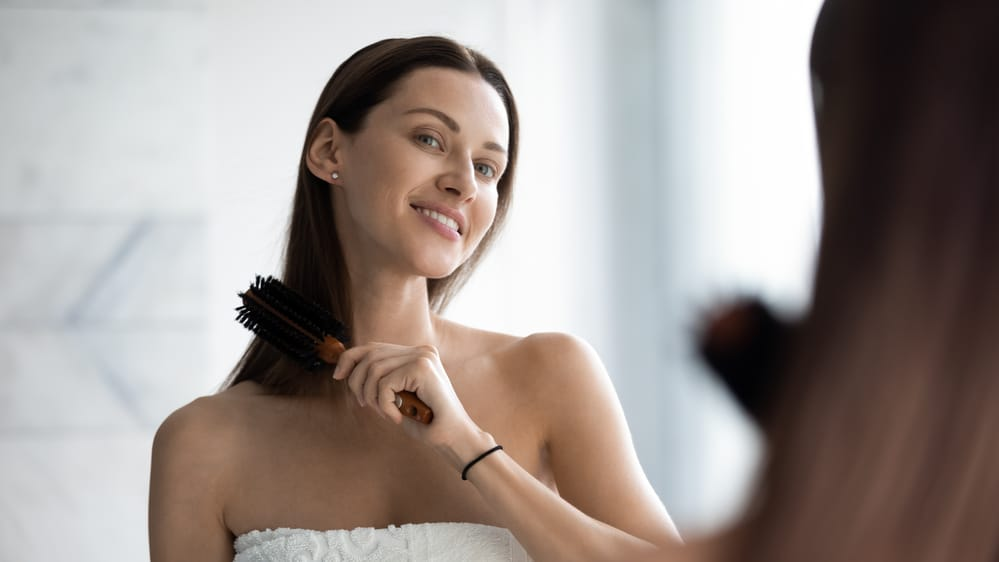 how to straighten hair without straighteners