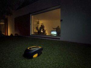 robot-mower-working-at-night