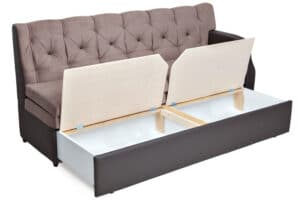 sleeper couch with extra storage
