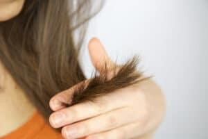 split ends on hair