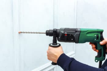 How to Screw Into Concrete Without a Hammer Drill
