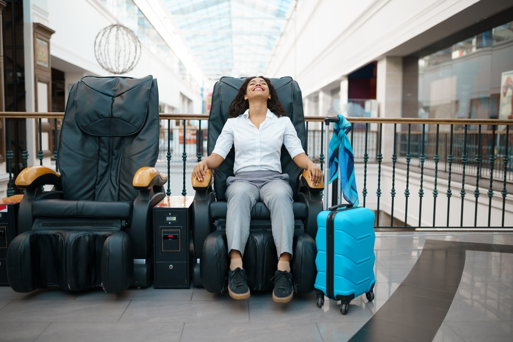 how do massage chairs work