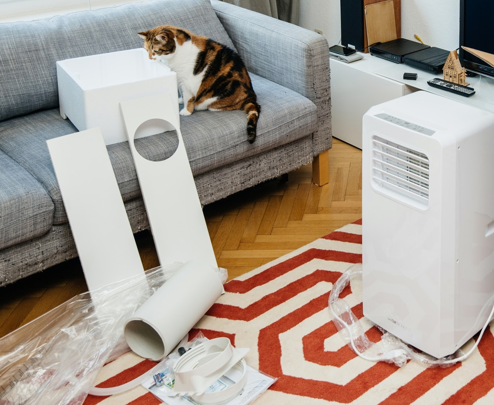 how to vent a portable air conditioner without a window