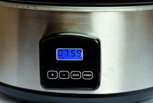 timer on electrical cooking appliance