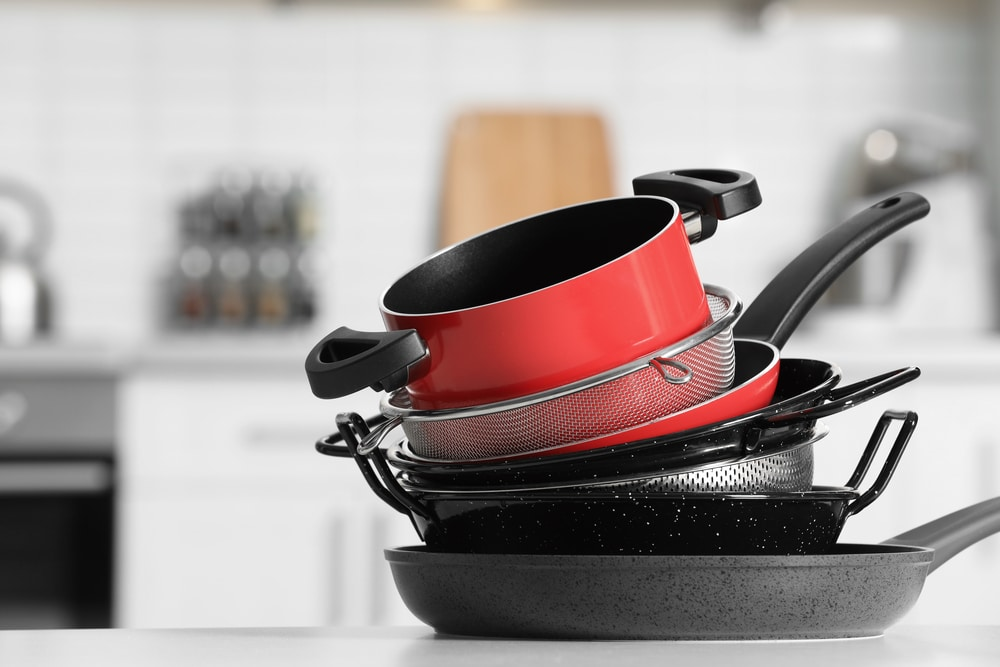 what are saucepans made of