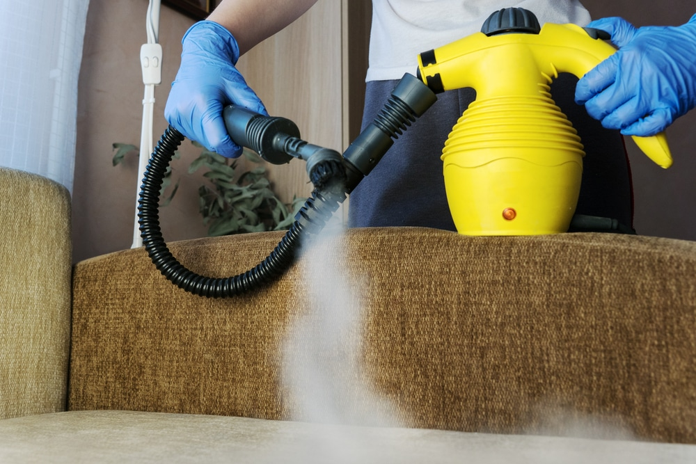 what can you clean with a handheld steam cleaner
