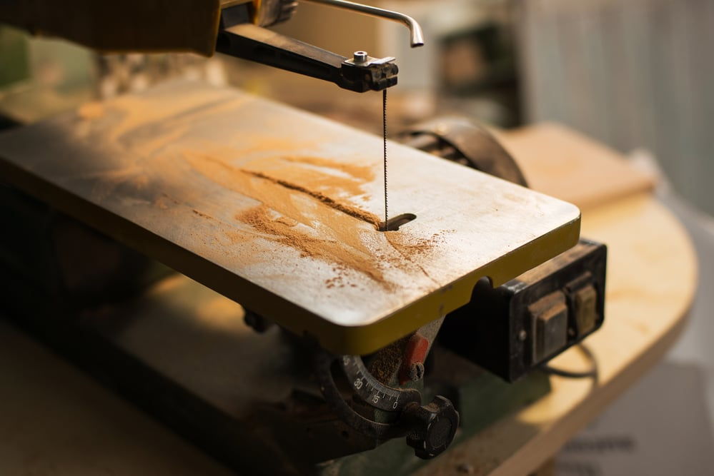 what is a scroll saw used for