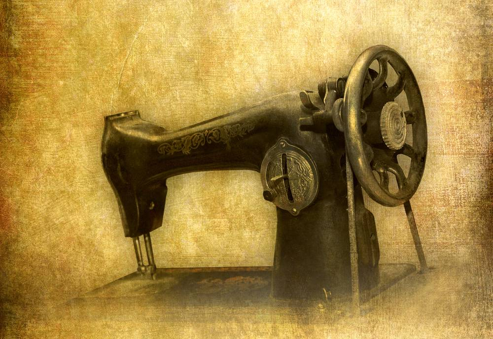 when was the sewing machine invented