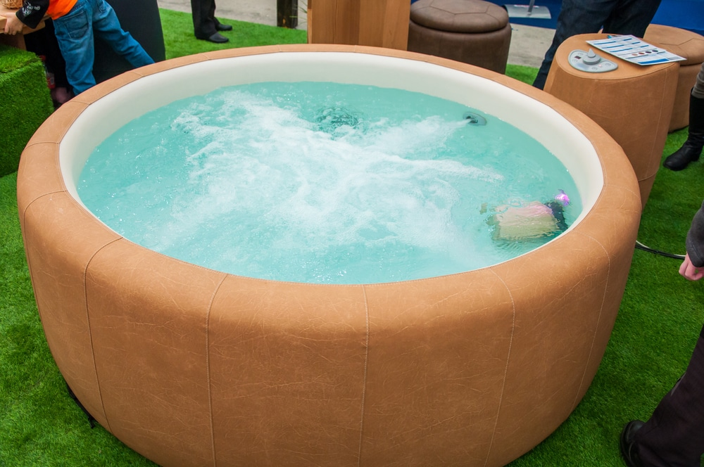 What Can I Put Under an Inflatable Hot Tub