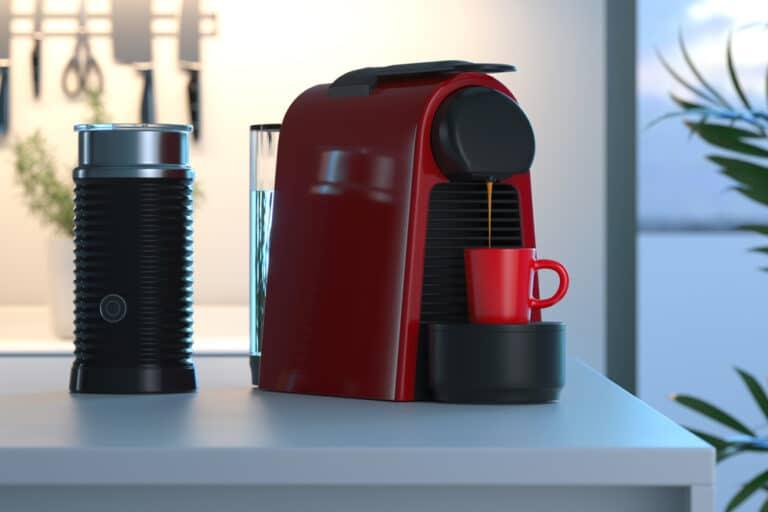 how to clean a coffee pod machine