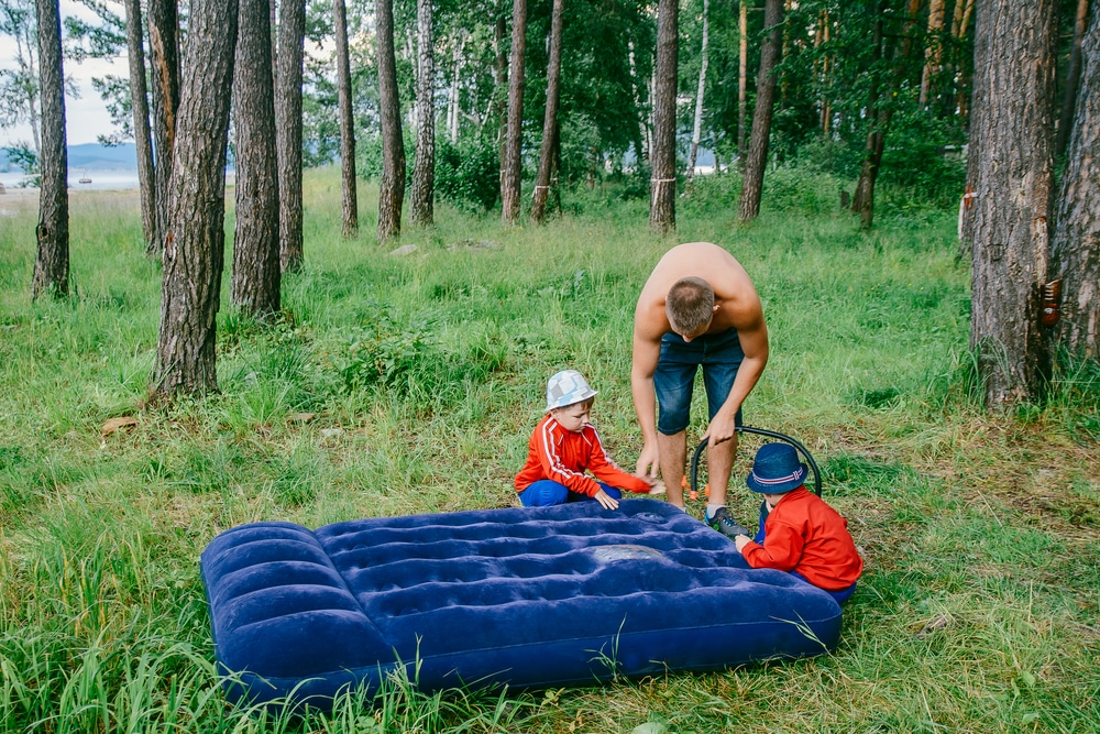 how to repair an inflatable mattress