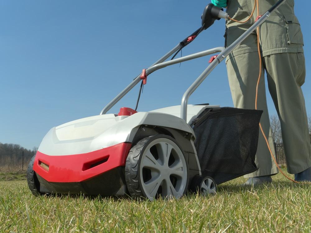 when to use a lawn scarifier