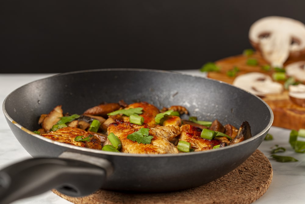 How to restore a non stick frying pan