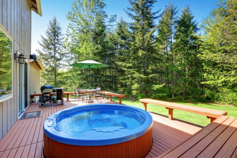 how to empty an inflatable hot tub