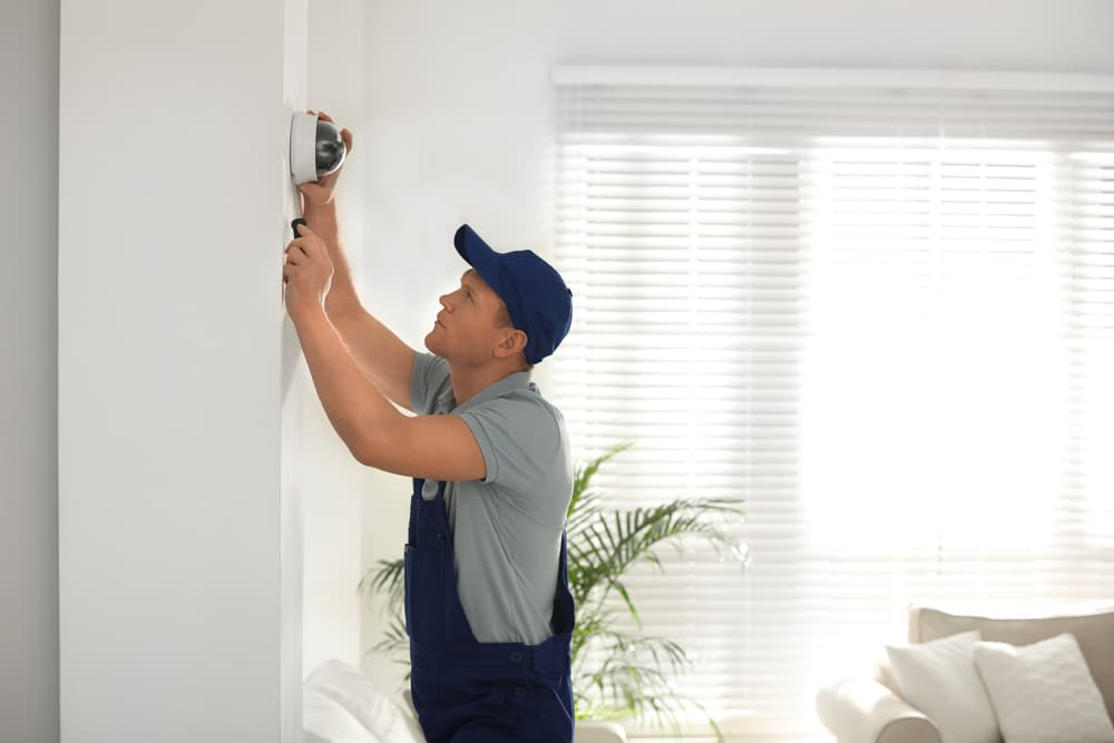 how to install wireless CCTV at home