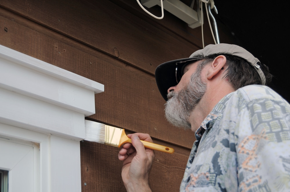 how to paint exterior wood
