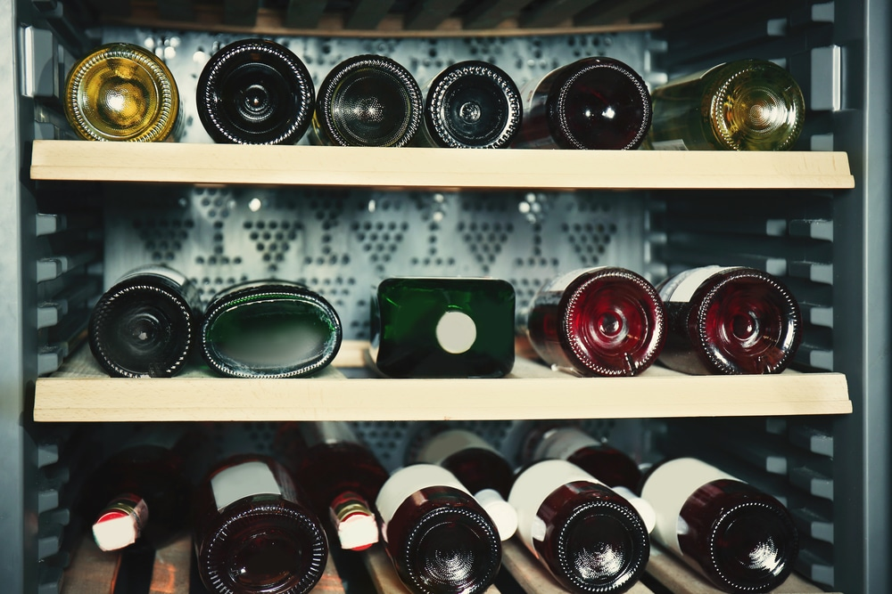 what is the ideal temperature for storing wine