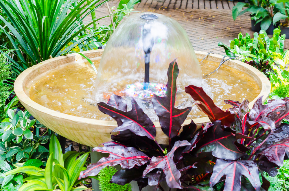 How to Make a Solar Water Feature